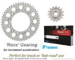 RACE GEARING: Steel Sprockets and Tsubaki Sigma O-Ring Chain - Aprilia RSV Mille R/SP (01-03)